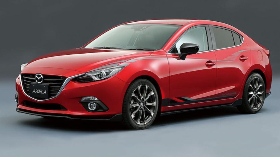 Mazda Axela, tres cuartos delantero