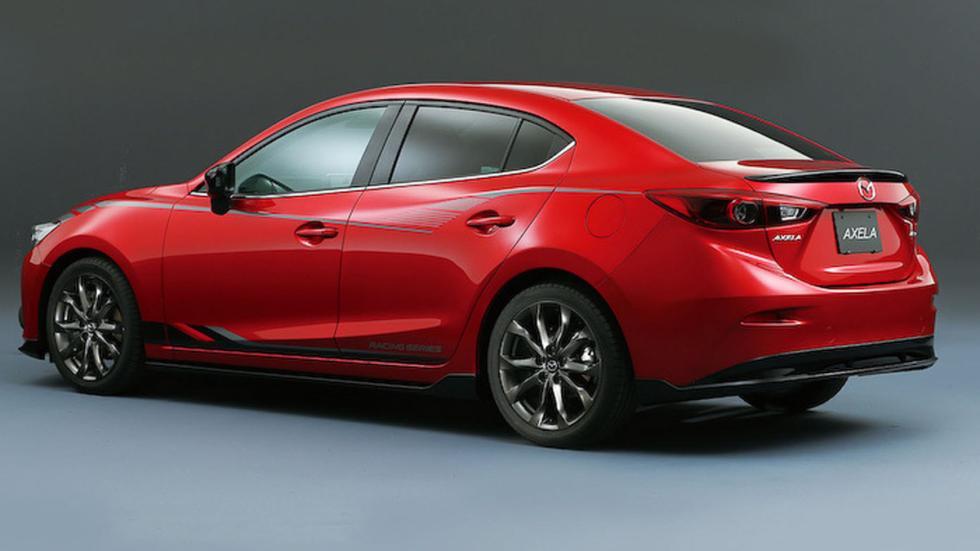Mazda Axela, tres cuartos trasero