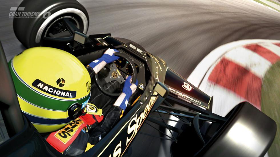 Secuencia GT6 Ayrton Senna