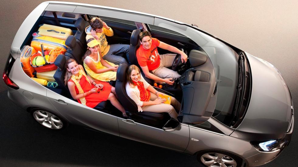 Opel Zafira Tourer maletero