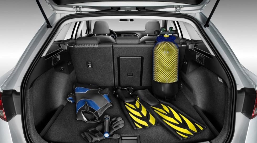 Seat León ST maletero