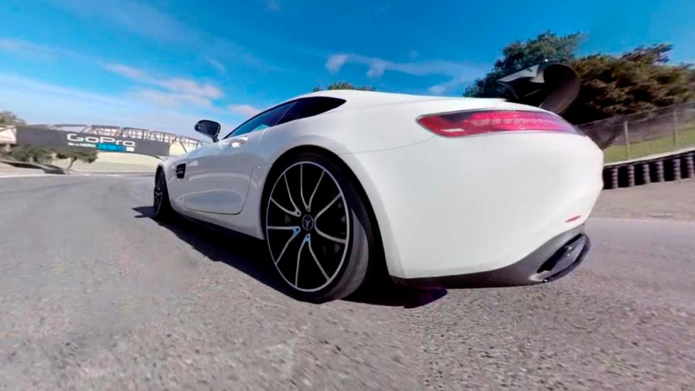 Mercedes AMG GT S - trasera