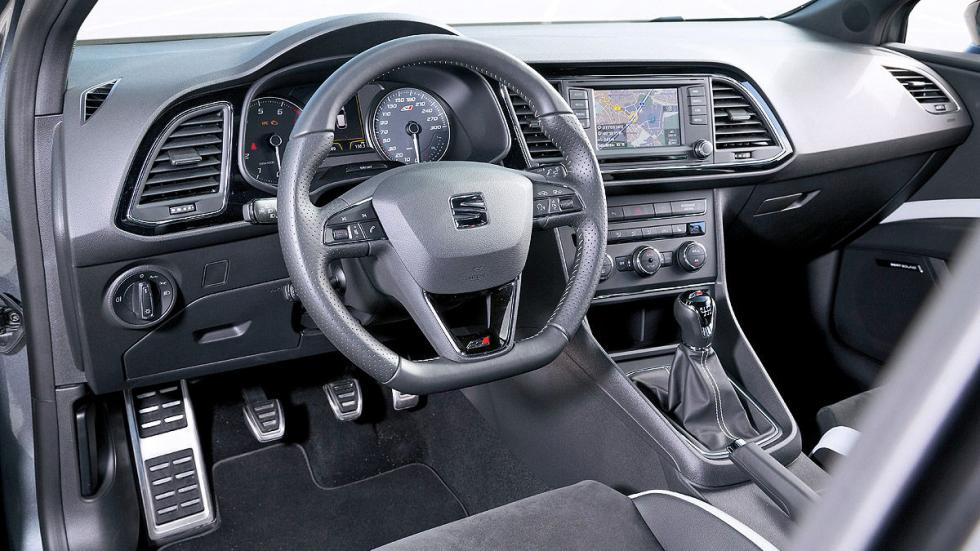 Seat Leon Cupra 280 Performance interior