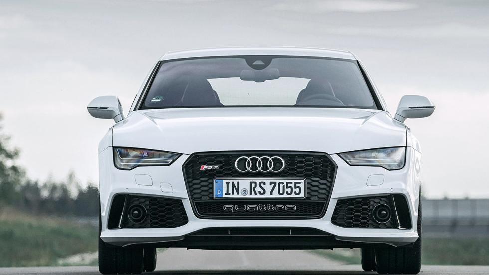 Audi RS7 Sportback en circuito frontal