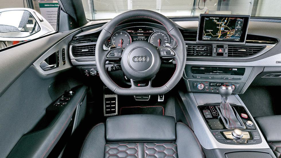 Audi RS7 Sportback en circuito interior