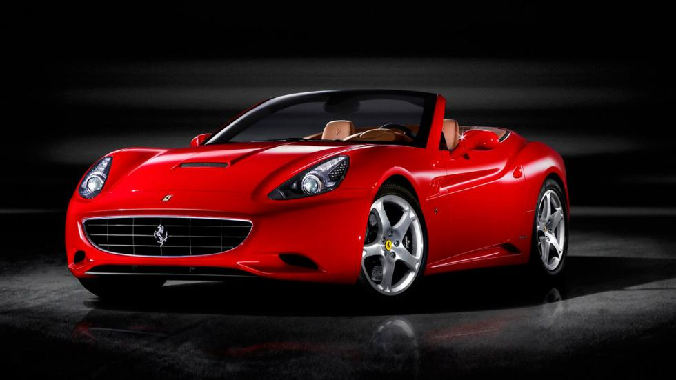 Ferrari California delantera