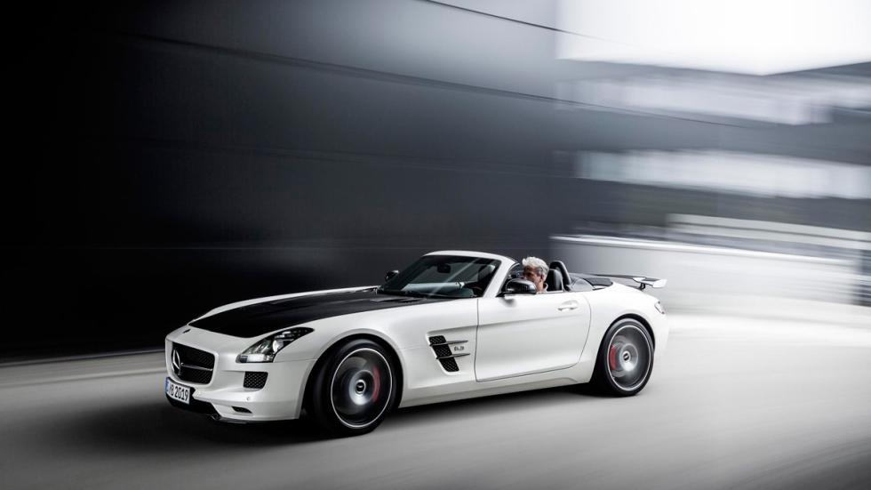 Mercedes SLS delantera