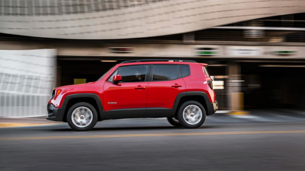 Jeep Renegade lateral