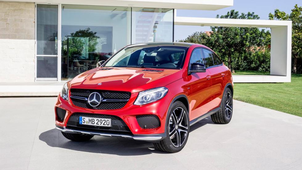 Mercedes GLE Coupé delantera