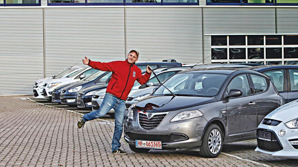 Lancia Ypsilon del año 2012