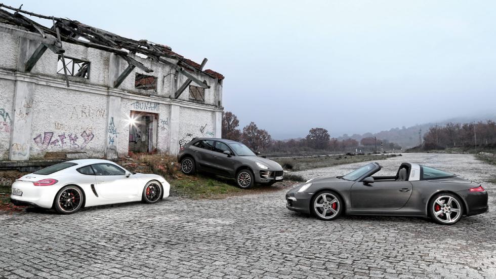 Los tres Porsche vencedores del Volante de oro