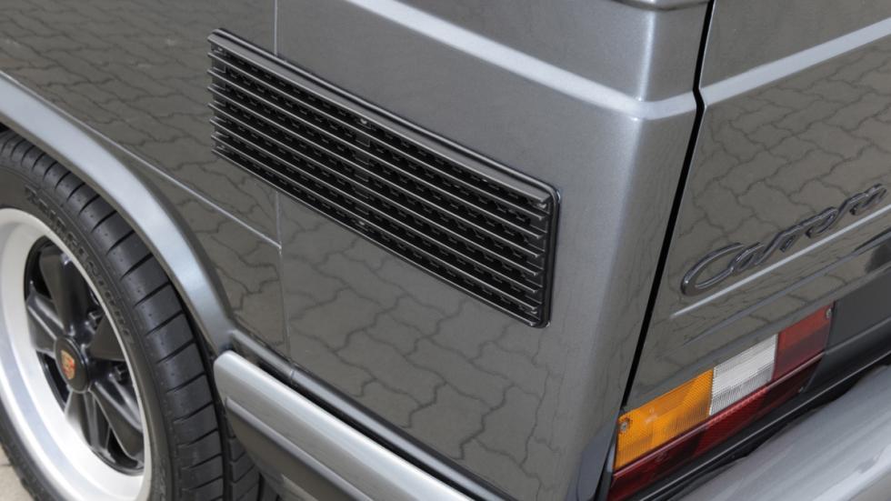 Porsche B32 detalle refrigeración