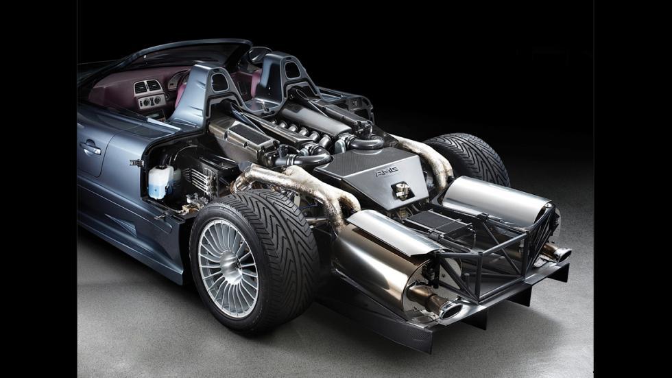 Mercedes GLK GTR Roadster - motor