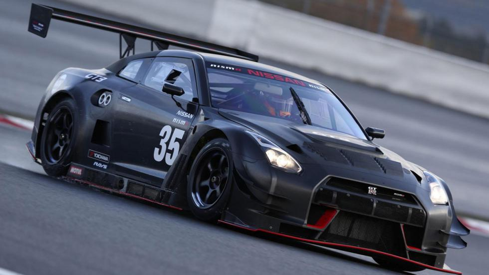 Nissan Tokio Auto Salon 2015 GT-R GT3