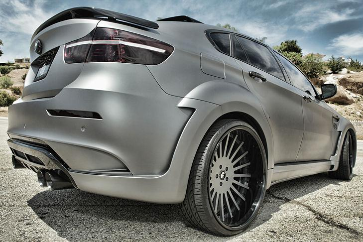 BMW X6 con Tycoon Evo-Bodykit