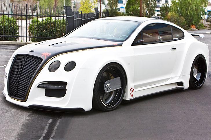 Tetsu GT-R de ASI basado en un Bentley Continental