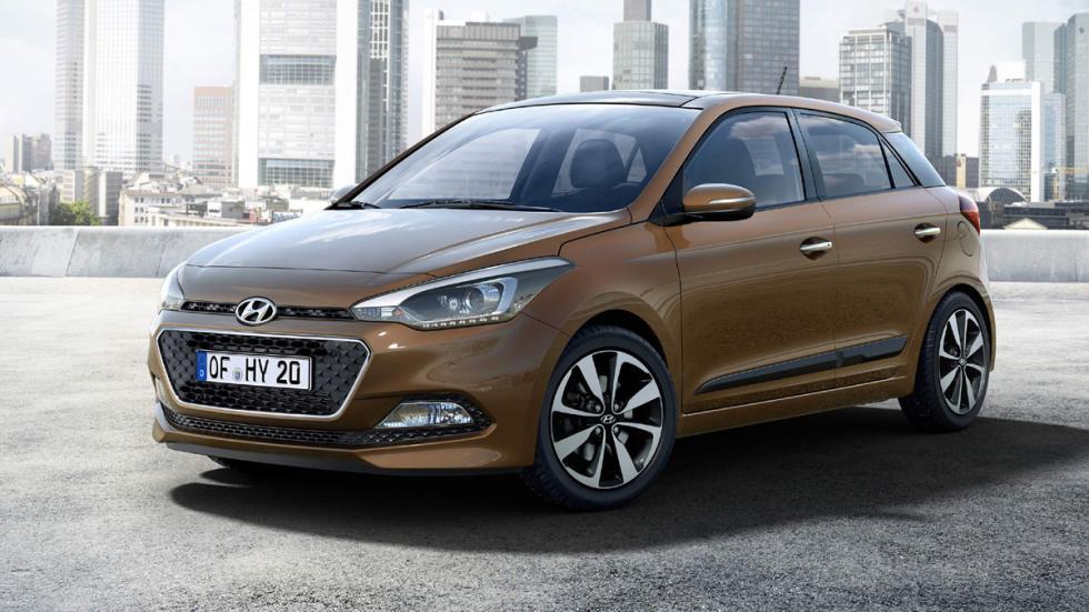 Hyundai i20 2014 delantera
