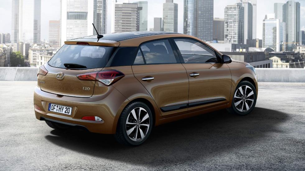 Hyundai i20 2014 trasera
