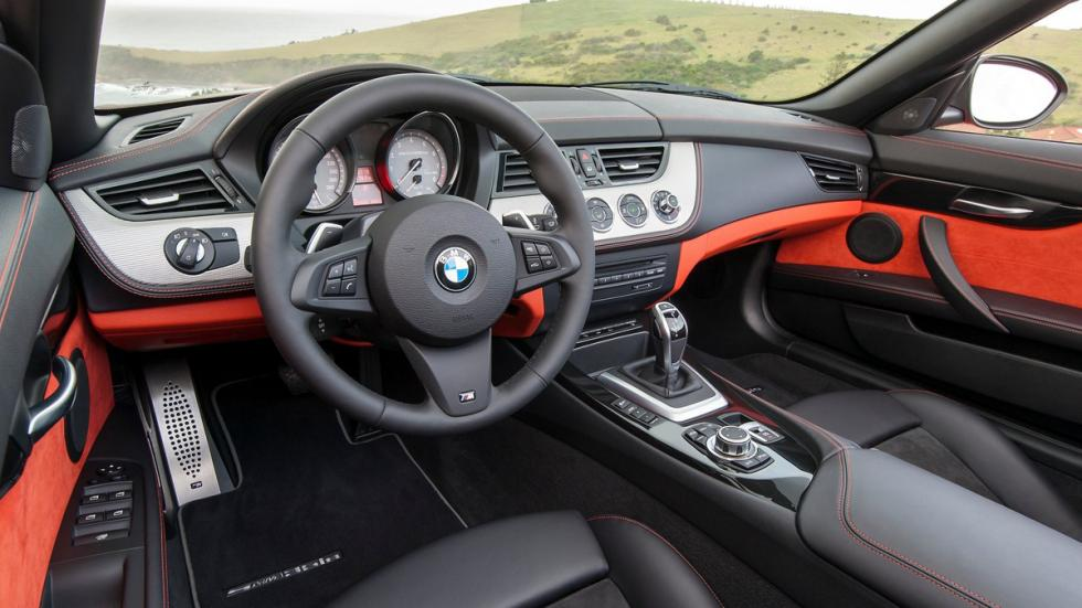 bmw z4 roadster interior