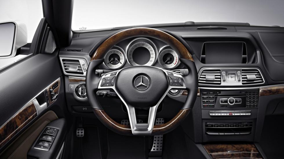 Mercedes Clase E Cabrio 2014 interior
