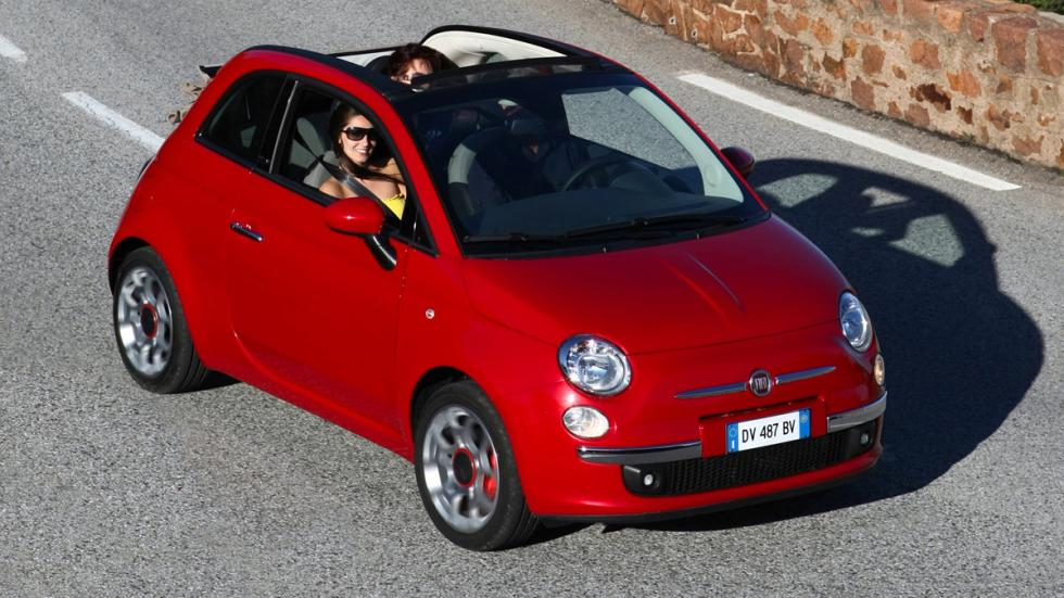 Fiat 500C frontal