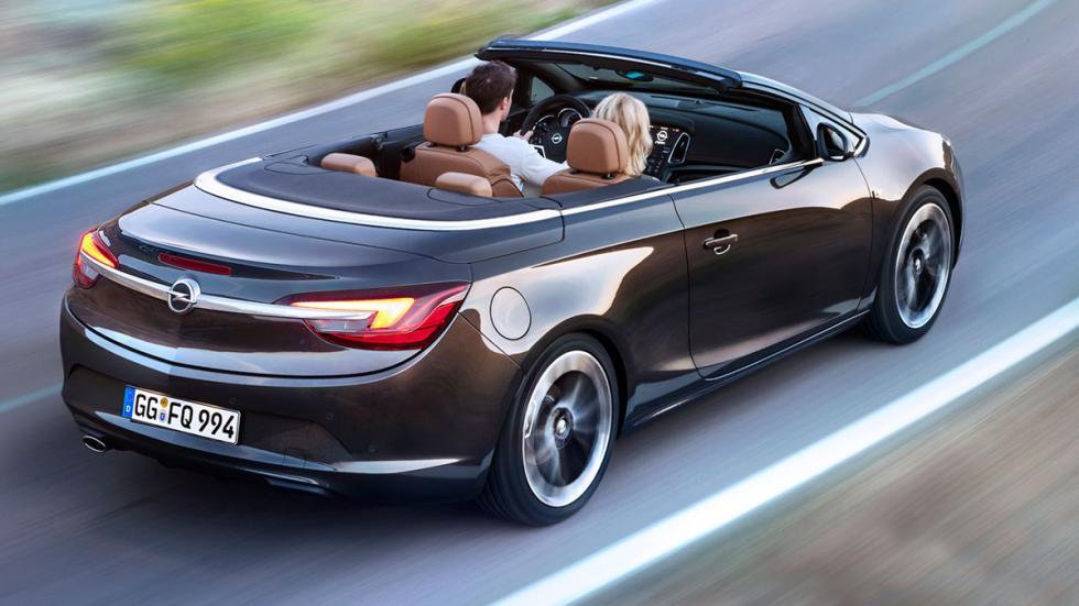 Opel Cabrio trasera