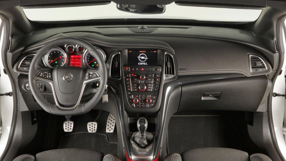 Opel Cabrio interior