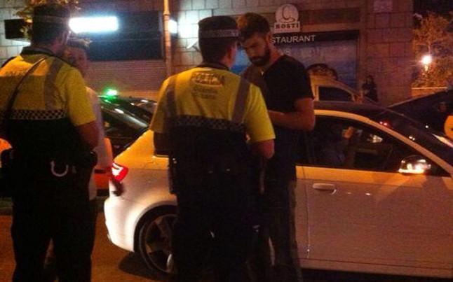 Discusión pique policia barcelona 3