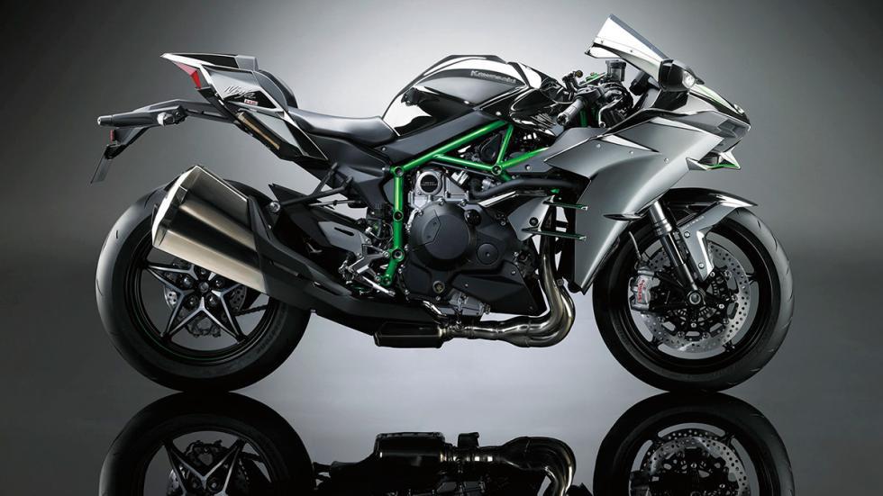 Kawasaki Ninja H2 lateral