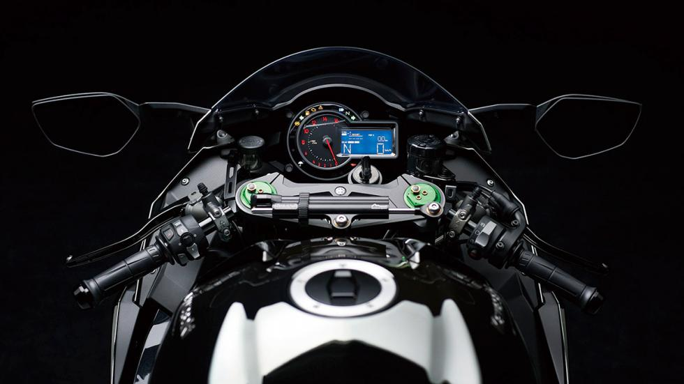 Kawasaki Ninja H2 mandos