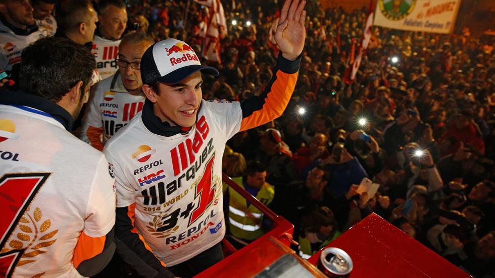 celebración Marc y Alex Márquez 3