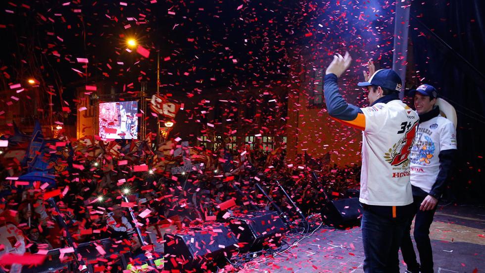 celebración Marc y Alex Márquez 10