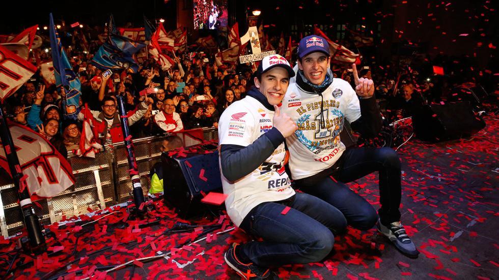 celebración Marc y Alex Márquez 11