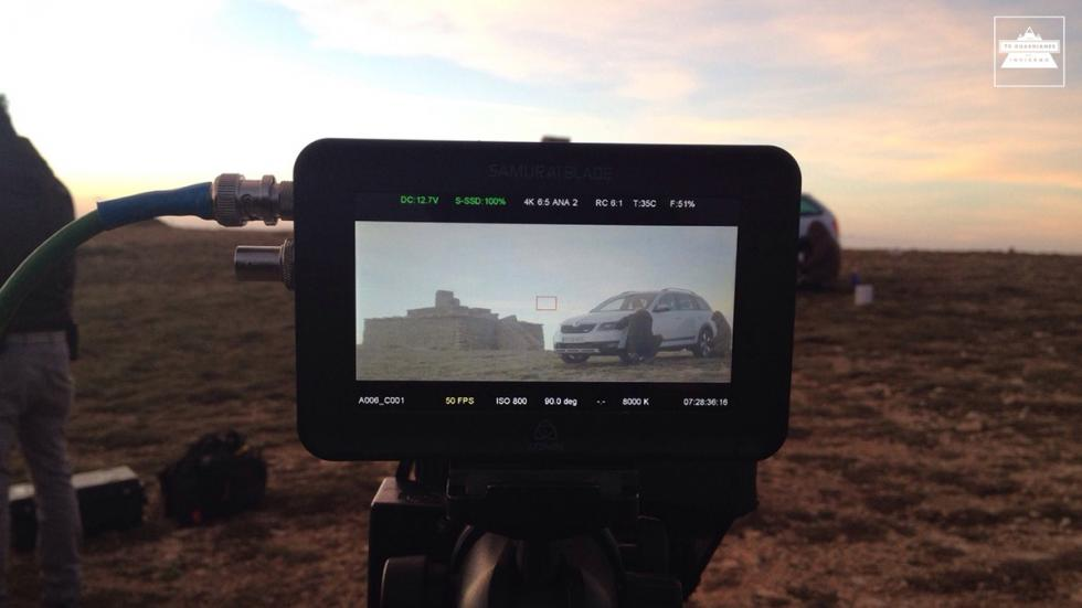 Making of 70 guardianes del invierno Skoda 5