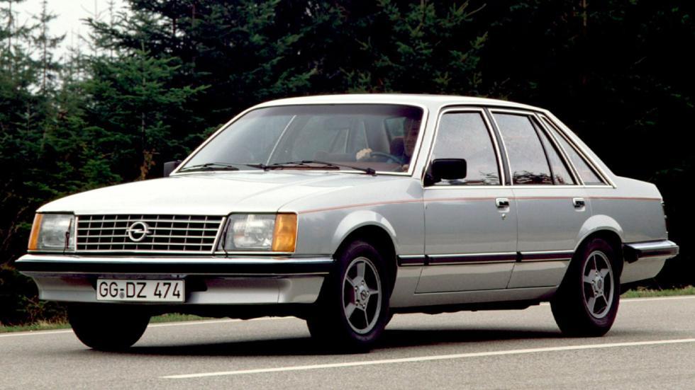Opel Senator delantera