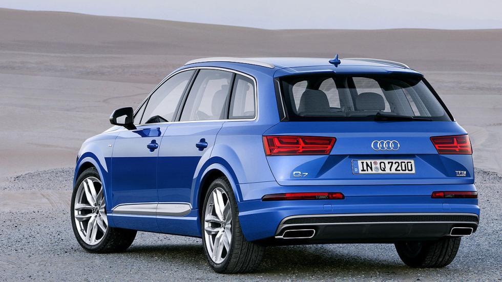 Audi Q7 zaga