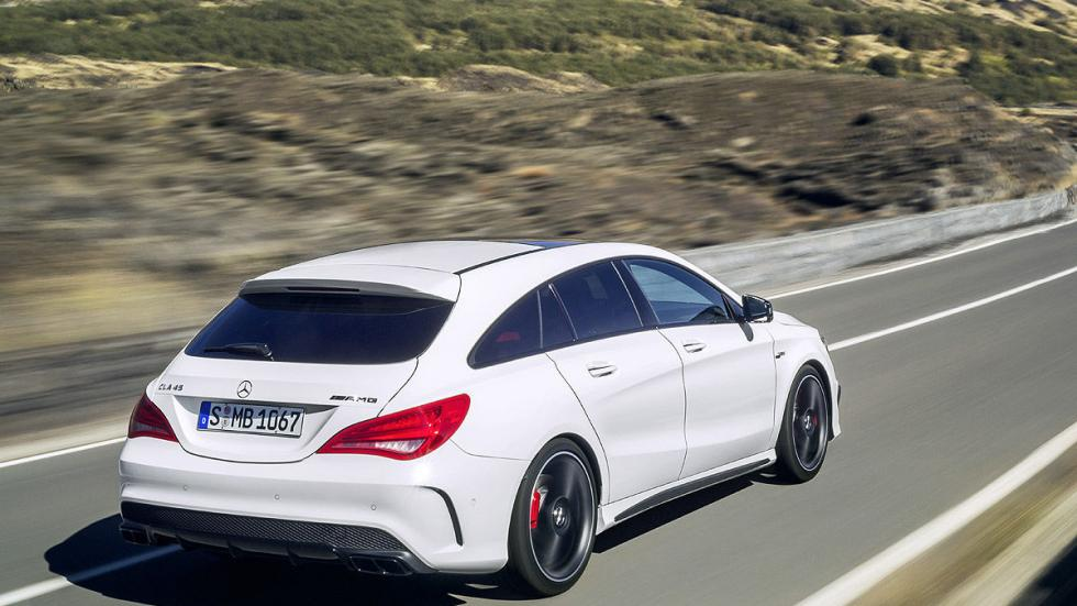 Mercedes CLA Shooting Brake zaga
