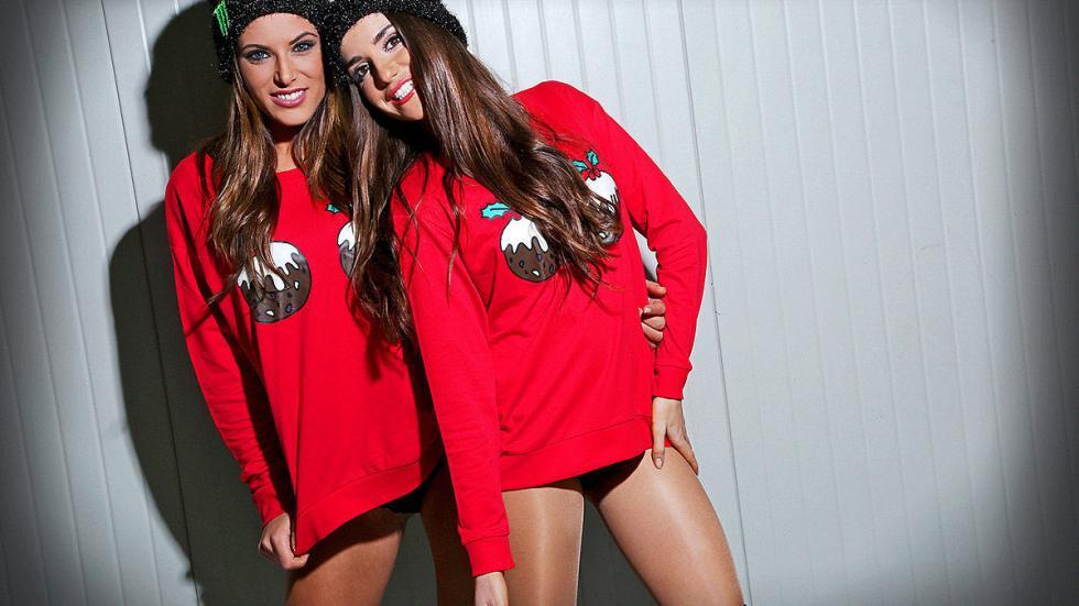 Chicas Monster Navidad 4