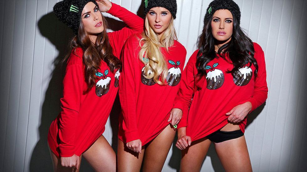 Chicas Monster Navidad 14