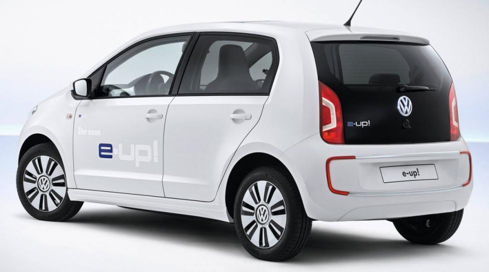 Volkswagen e-up! trasera