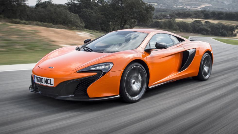 coches Gordo Lotería McLaren 650S Coupé