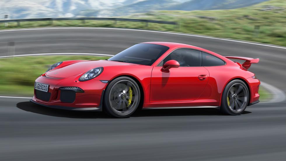 coches Gordo Lotería Porsche 911 GT3