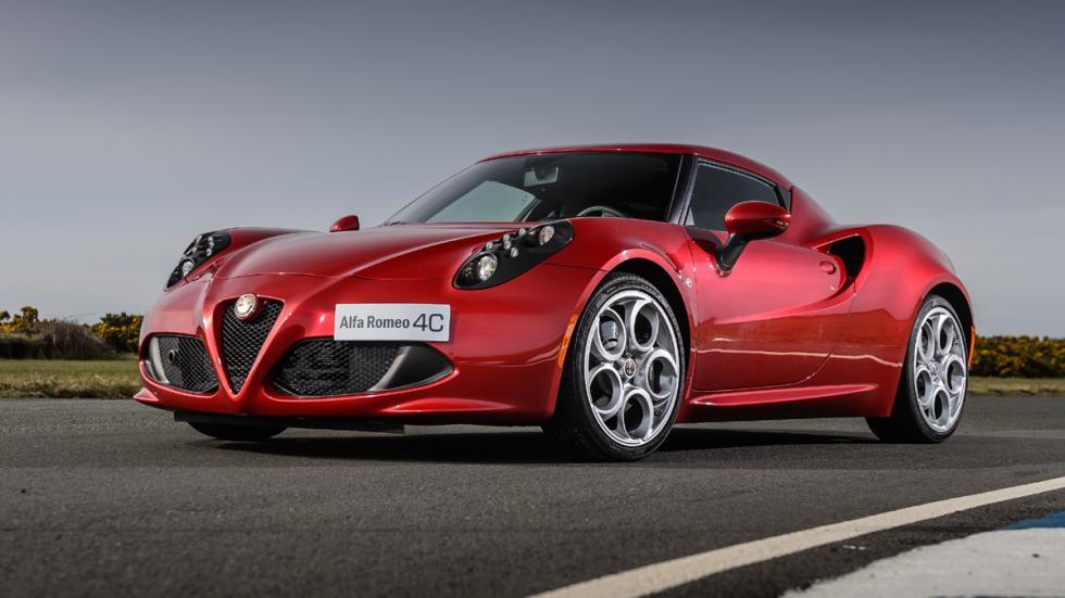 coches Gordo Lotería Alfa Romeo 4C