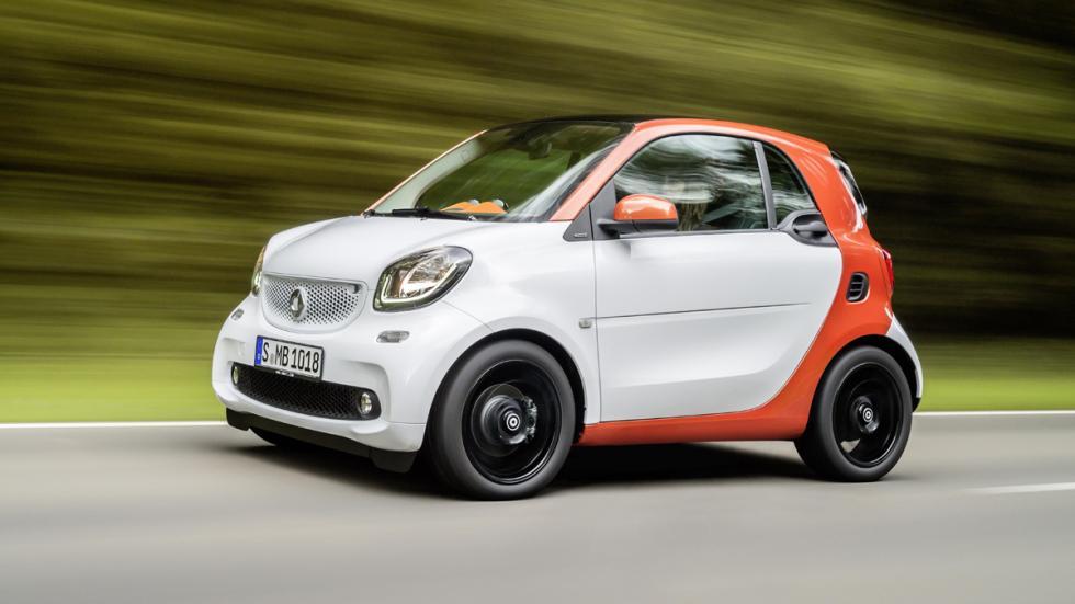 coches Gordo Lotería smart fortwo