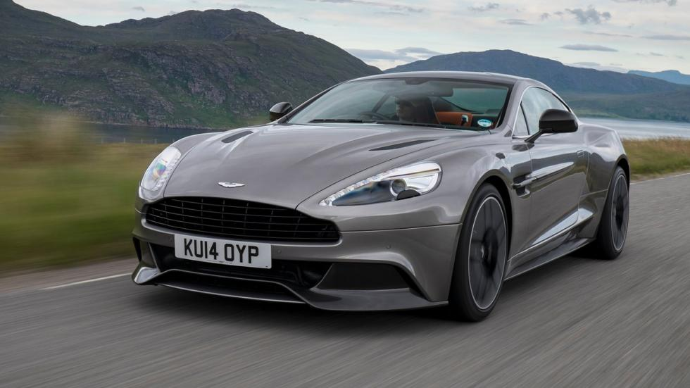 superdeportivos comprarte El Gordo Aston Martin Vanquish