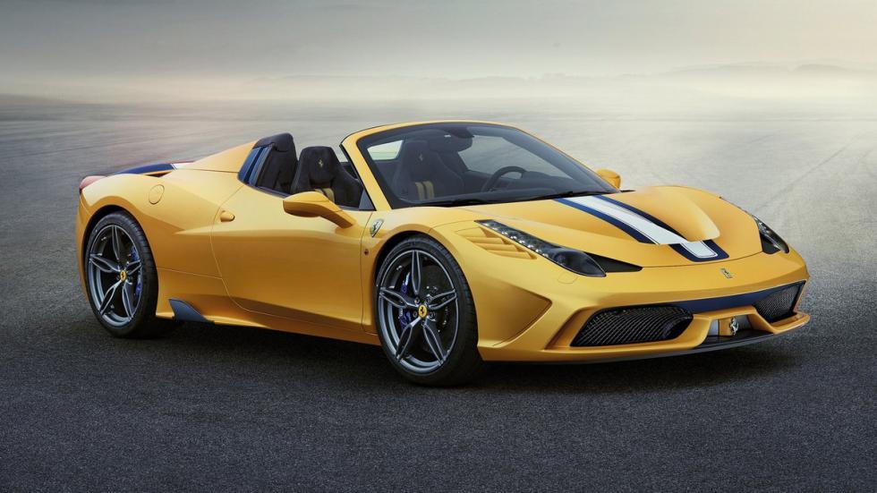 superdeportivos comprarte El Gordo Ferrari 458 Speciale A