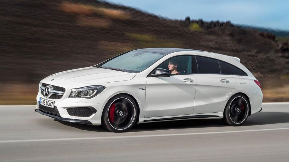 Coches lotería compactos Mercedes CLA Shooting Brake