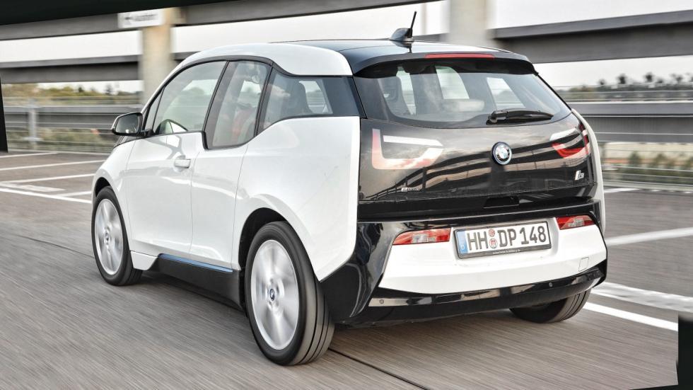 Coches lotería compactos BMW i3
