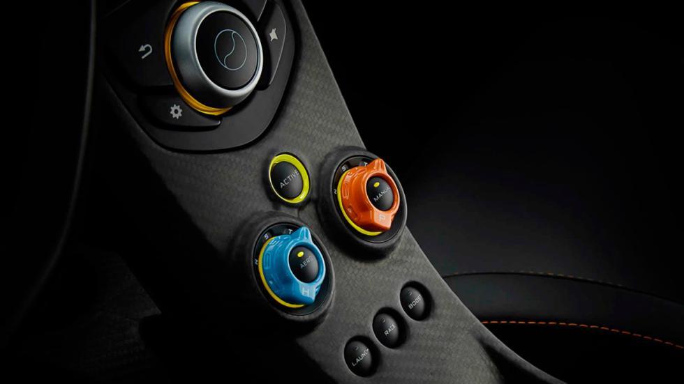 McLaren P1 Miles Nadal - botones