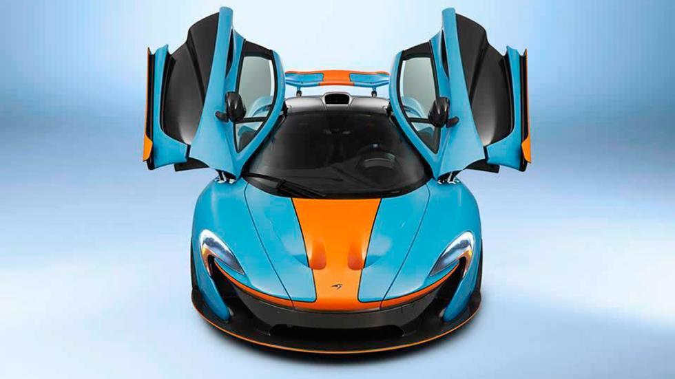 McLaren P1 Miles Nadal - frontal